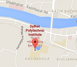 Sylhet Polytechnic Institute Map
